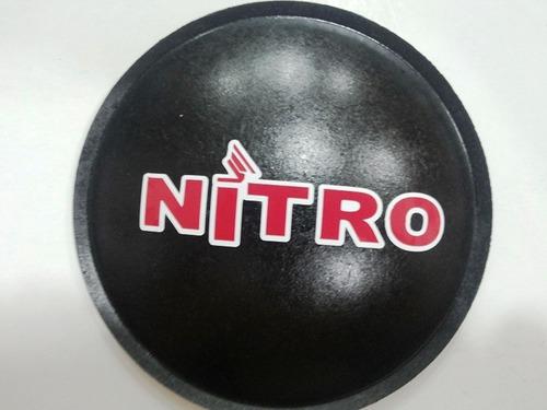 2 - guarda pó protetor para alto falante nitro 135mm