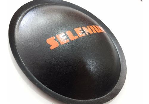 2 - guarda pó protetor para alto falante selenium 100mm