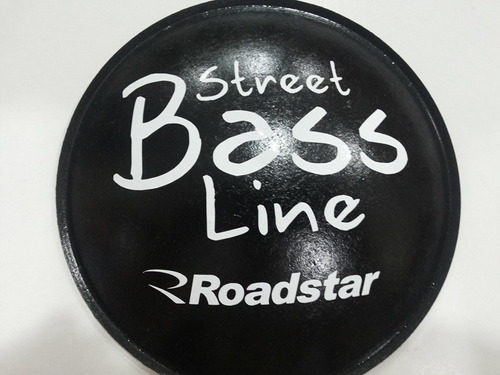 2 - guardapó  protetor p fal street bass line roadstar 160mm