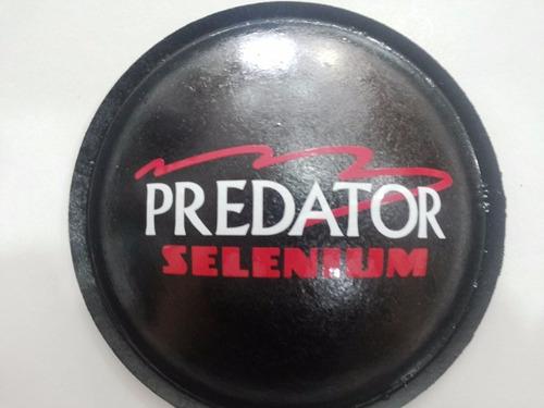 2- guardapó protetor p/ falante selenium predator 120mm+cola