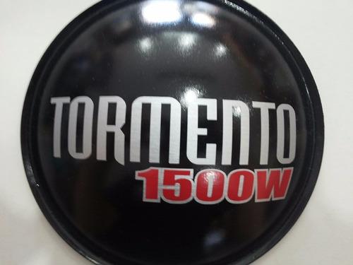 2 - guardapó protetor para alto falante tormento 1500w 160mm