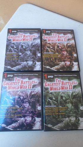 2 guerra mundial grandes batallas 4 dvds