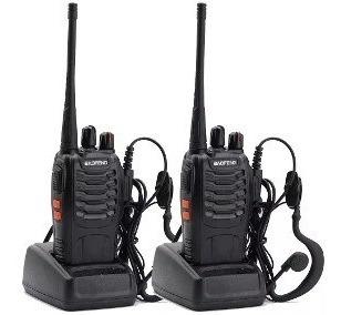 2 handys walkie talkie baofeng -loganbf- 888a-lr16 easybuy