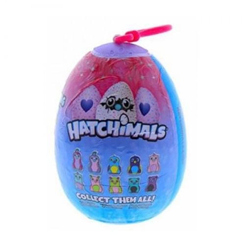 2 hatchimals huevo sorpresa con peluche y sonido (original)