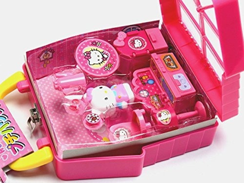 2 hello kitty se adapta a petite house and purse con correa