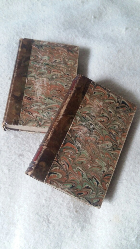 2 Hermosos Libros Antiguos Franceses Para Deco 25000 En Mercado
