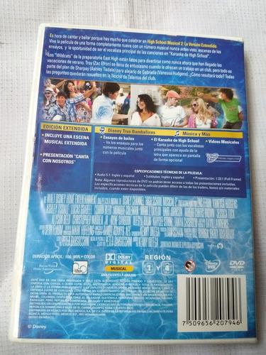 2 high school musical 2 dvd original