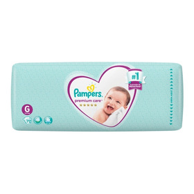 2 Hiperpack Pampers Premium Care Mensual Todos Los Talles