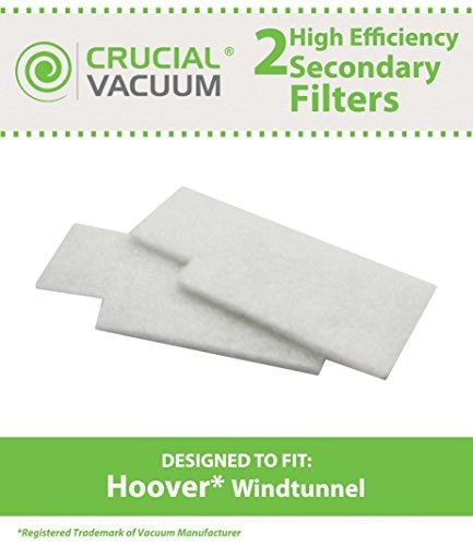 2 hoover windtunnel filtros secundarios fit hoover tempo wi