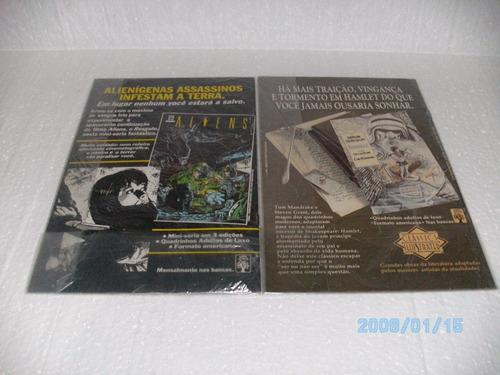 2 hqs um conto batman- shaman nºs1 e 2 de 5 edições eq. fj