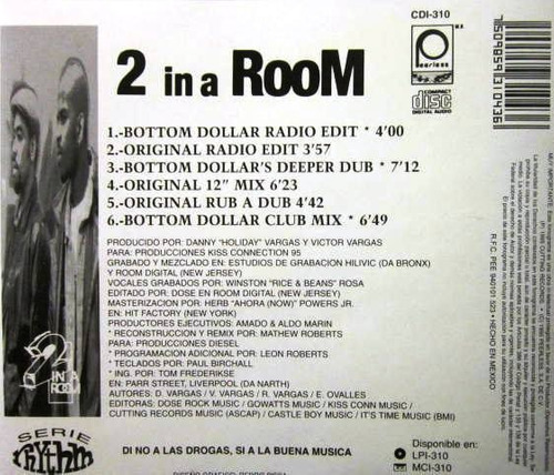 2 in a room - now ahora single