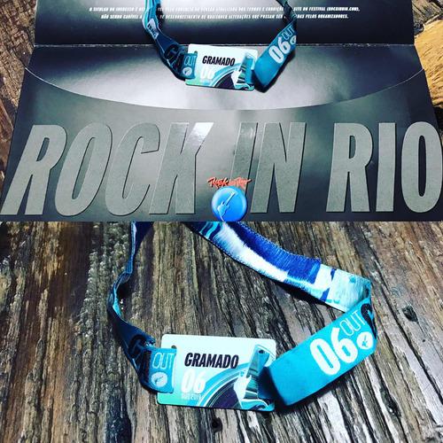 2 ingressos para rock in rio-6/10 ( muse e imagine dragons)