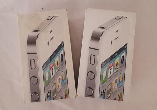 2 iphone 4 cdma chip para repuestos o reparar