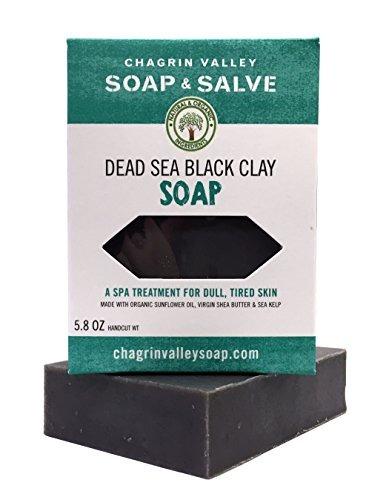 2 Jabones Orgánicos Chagrin Valley Soap & Salve Arcilla Mar