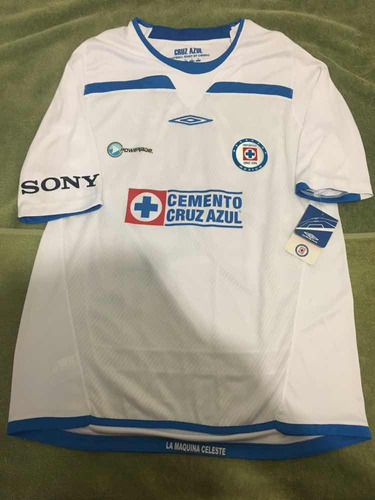 e69cb118f 2 Jersey Cruz Azul 2008-2009 Mediana Original Con Etiquetas ...