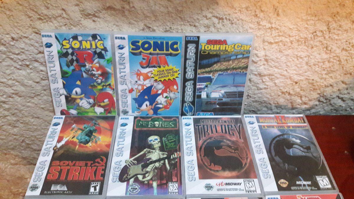 2 Jogos De Sega Saturn Cd Rom A Escolha