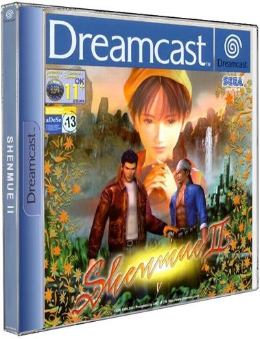 2 Jogos De Shemnue (8 Cds) Sega Dreamcast Cd Rom