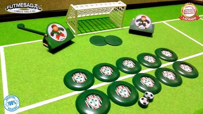75cd74b420 2 jogos kits futebol de botão portuguesa sp x juventus sp. Carregando zoom.