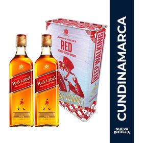 2 Johnnie Walker Red Label 700 + Lata