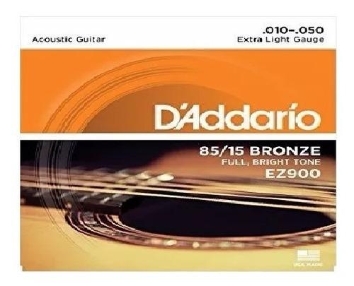 2 juegos cuerdas guitarra acústica daddario ez900 10-50 )