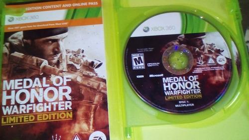2 juegos de medal of honor originales x box 360