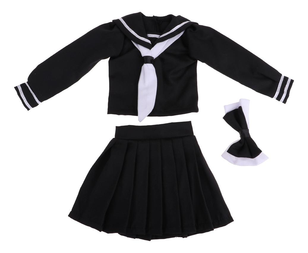2 Juegos De Vestir De Muñeca De Moda De Uniformes Escolares