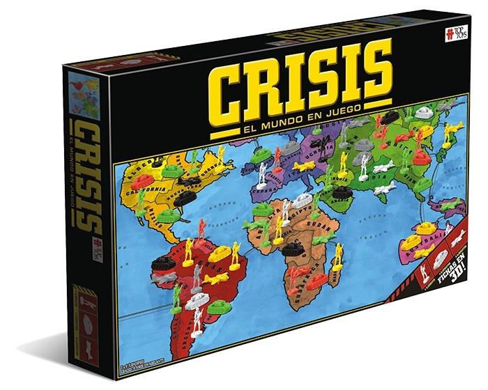 2 Juegos Mesa Crisis Teg Familiar Estrategia Top Toys Ninos