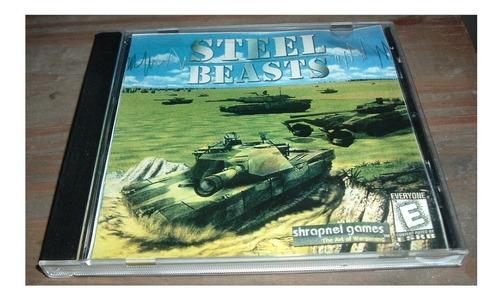 2 juegos para pc construction zone y steel beasts