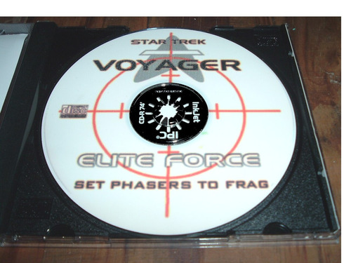 2 juegos para pc star trek voyager elite force y flanker 2