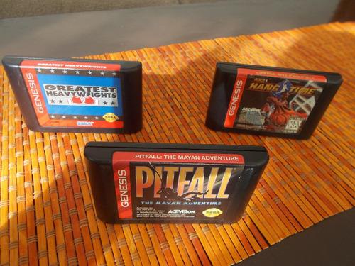 2 juegos sega genesis originales (el precio es por ambos)