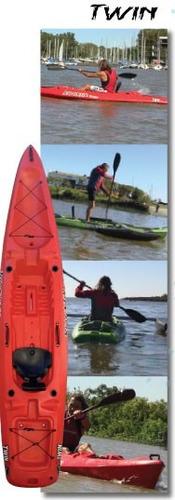 2 kayaks rocker twin + kit catamaran c5 local