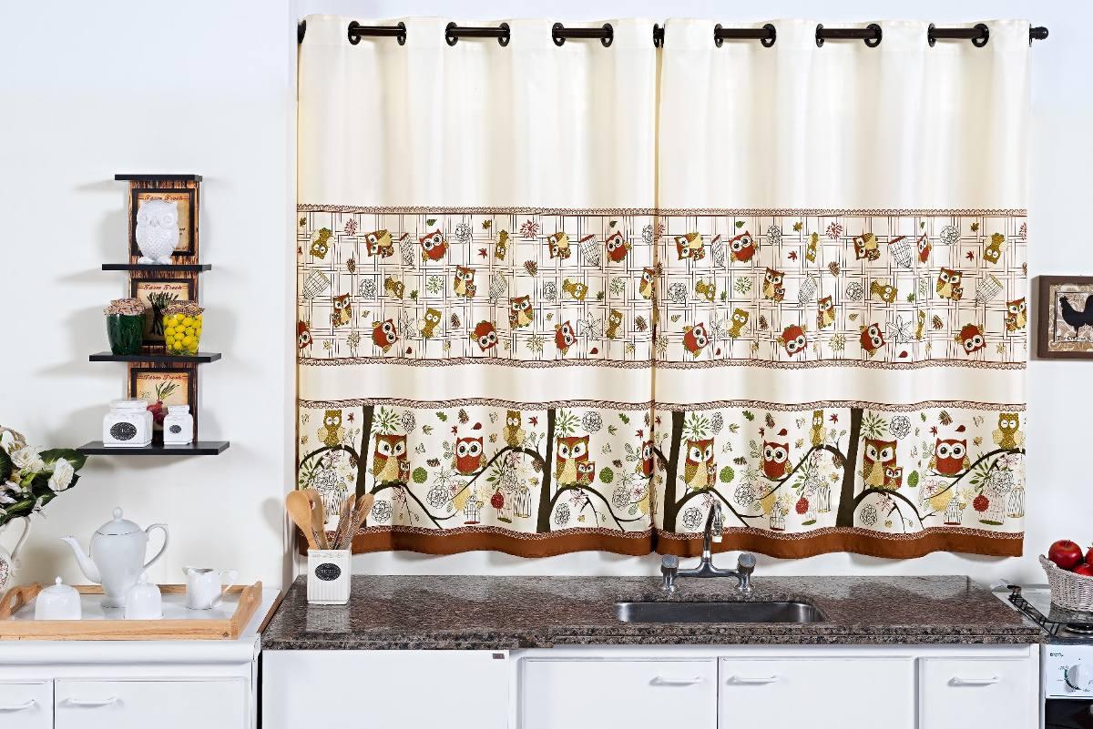 2 Kit Cortina Cozinha 2 00m Kit Var O Completo R 139 60 Em