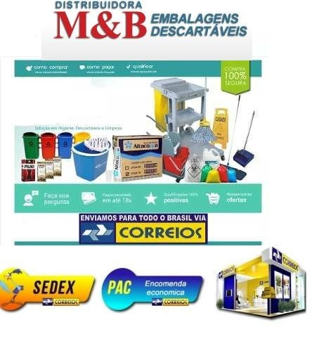 2 kit dispenser papel interfolha + saboneteira liquido