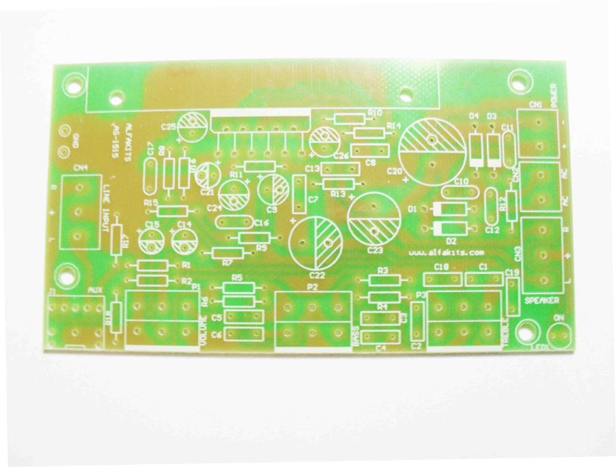 2 Kit Placa Amplificador Estereo 30w P Montar Alfakits R 120 Segue Abaixo O Desenho Do Circuito Se Voc Quiser Seu Carregando Zoom