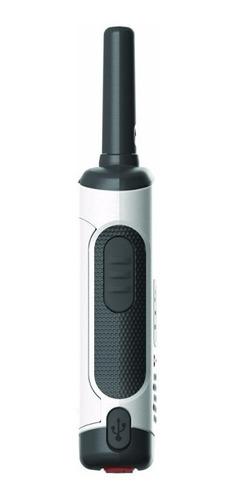 2 kit radios motorola 40km* 25 mi puerto micro usb t260-2