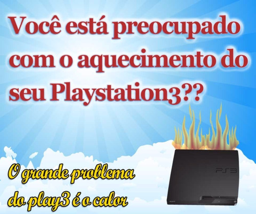 2 kit refrigeracao playstation 3 , plug and play de encaixe