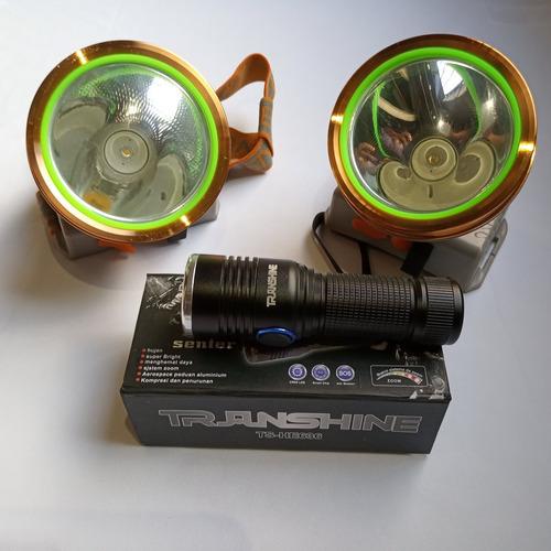 2 lamparas 30watts + 2 lamparas tacticas envio gratis a&b