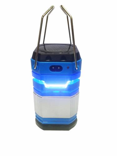 2 lampião luminária energia solar quadrada carrega celular..
