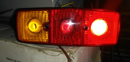 2 lanterna led 12 volts carretinha  leds jeep buggy carreta