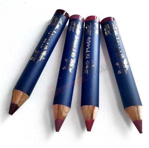 2 lápis labial batom bt maxlip bruna tavares apontador brind