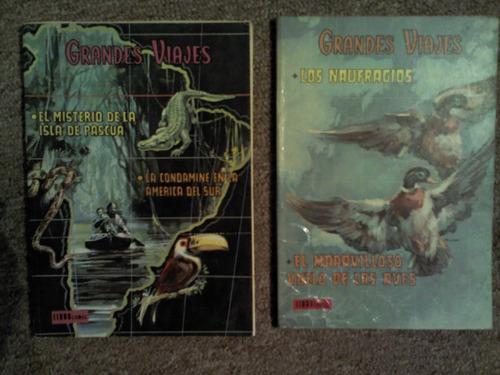 2 libro comic de grandes viajes novaro 1973
