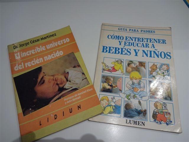 133260908 2 Libros De Bebe  El Recién Nacido Y Cómo Entretener Un Bebe -   180 ...