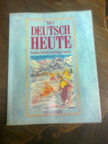 2 libros deutsch haute 1 y  2