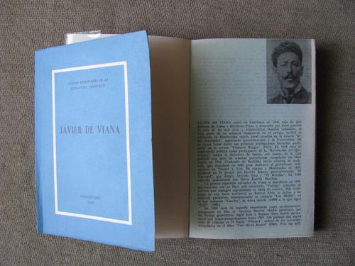 2 libros javier de viana macachines y paginas ejemplares