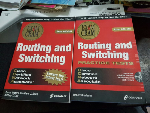 2 libros routing and switching.