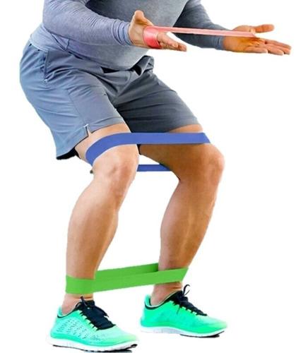 2 ligas o bandas elastica ejercicios pilates y resistencia