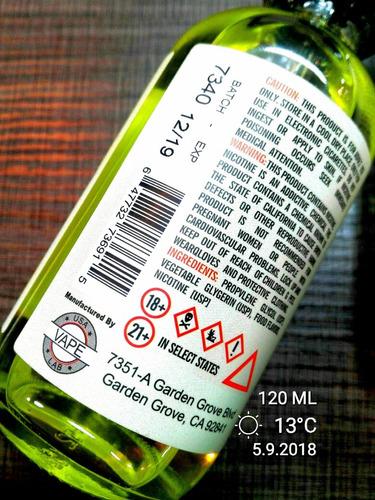 2 liquidos naked 120ml botellones llevas 240ml
