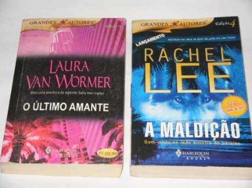 2 livros - a maldição + o último amante