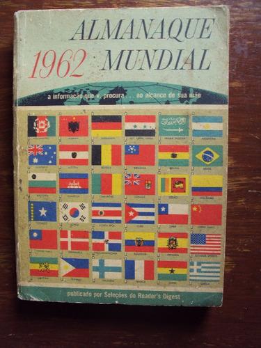 2 livros almanaque mundial de 1963 (1-d)