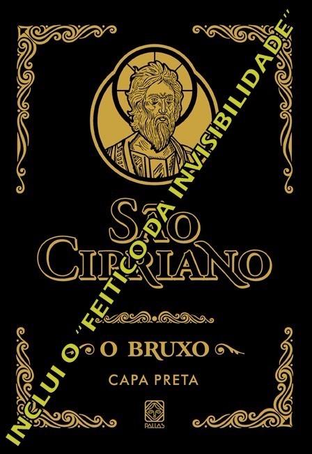 livro de sao cipriano capa preta completo